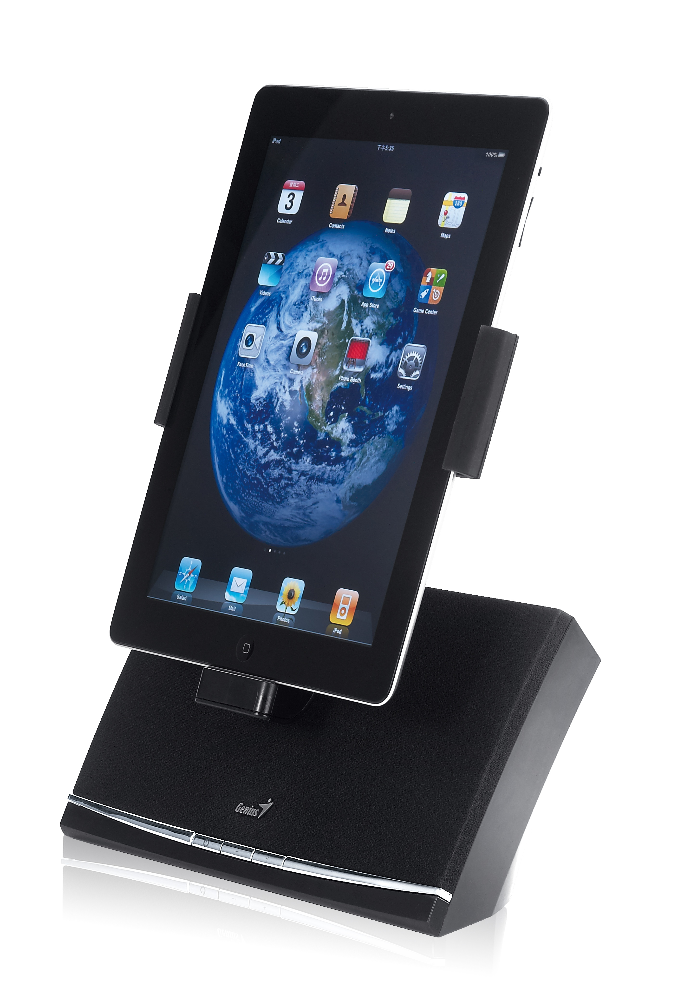 Announcing the iPad/iPhone/iPod Speaker System Line by Genius