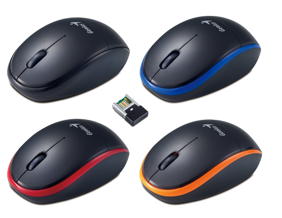 New Wireless And Blueeye Tracking Mouse From Genius Related Files