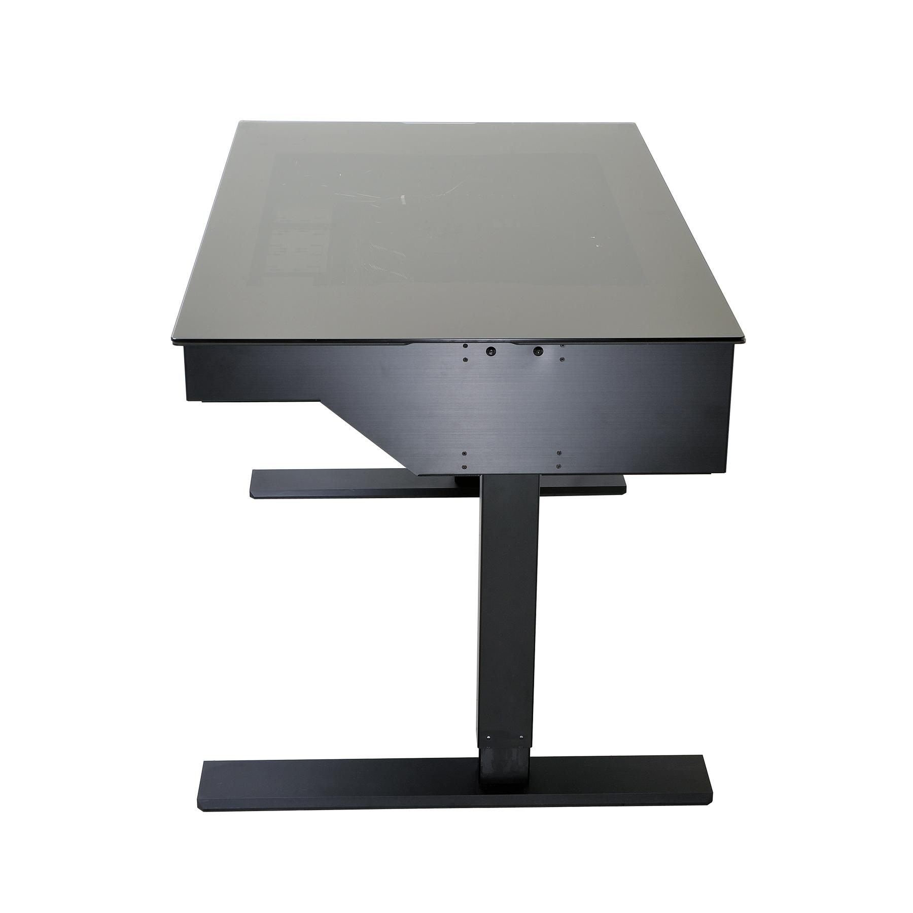 der weltweit erste stehtisch f r computer der neue dk 04 von lian li. Black Bedroom Furniture Sets. Home Design Ideas