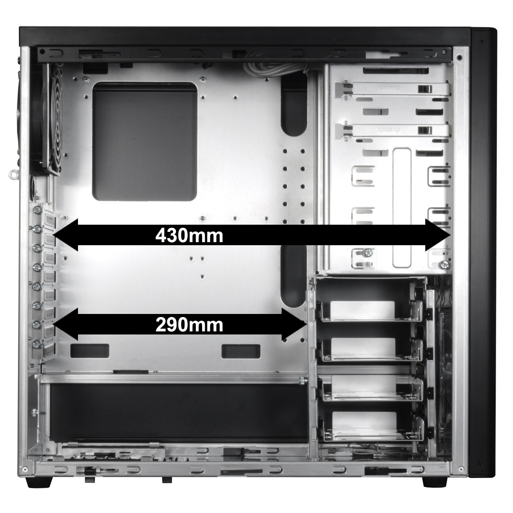 Lian Li Launches The All New Pc 7fn And 60fn Midi Tower Chassis Atcs 840 Computer Case Rc840 840rc840kkn1gpcomputer Prev